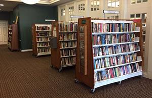 book sale area